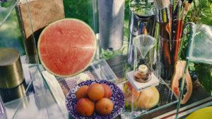 Produkt Fruchtfliegen-Retter als Fruchtfliegen-Falle, Rettet Fruchtfliegen. Still life