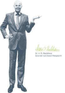 Dr. Hans-Dietrich Reckhaus als Portrait aus Fliegenretten in Deppendorf